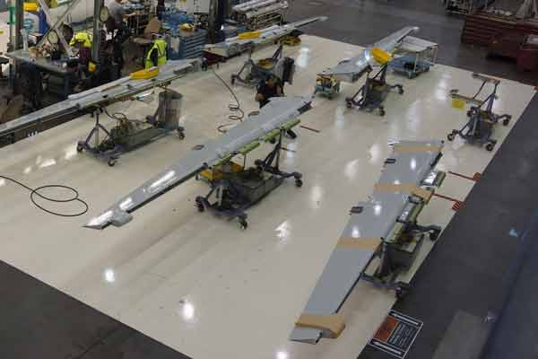 Boeing 737 wings built with new automated system