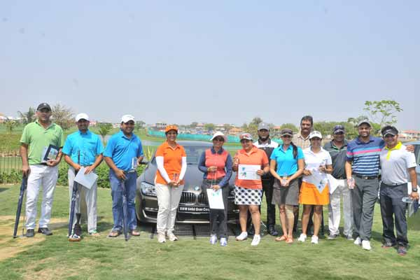 Excitement continues as BMW Golf Cup International 2015  arrives in Ahmedabad