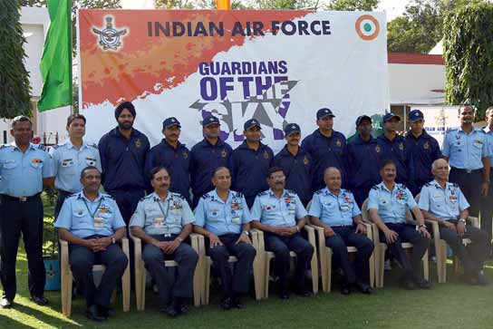 Student Interaction Drive by IAF – Guardians of the Sky-III