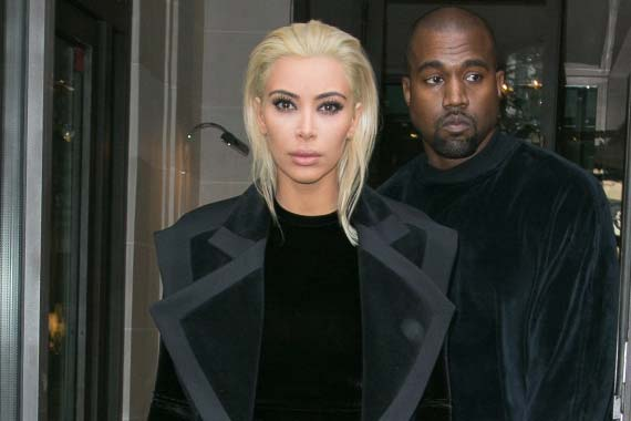 Paris Fashion Week: Kim Kardashian with a new look, goes platinum blond