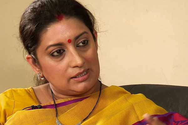 Smriti Irani gets dropped from Cabinet Committee on Parliamentary Affairs