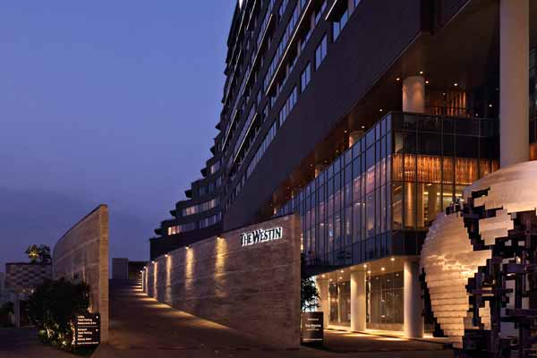 The Westin Pune Koregaon Park: Hotel goes dark for Earth Hour 2015