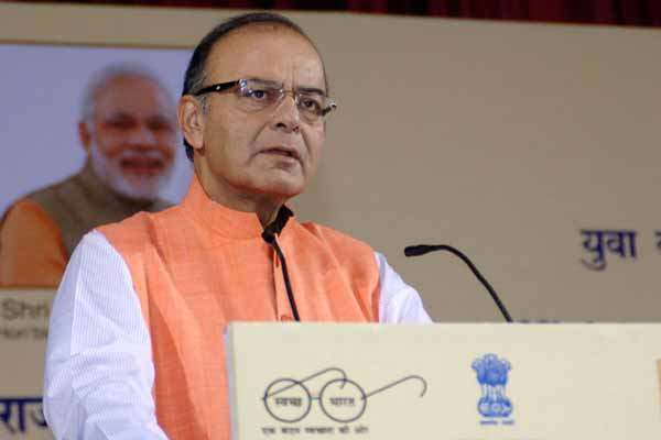 Shri Arun Jaitley lays Foundation Stone of Pt. Deen Dayal Upadhayay Paryatan Bhawan in New Delhi