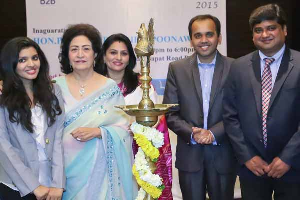 B2B women entrepreneurs meet hosted by Silver Edge Utopian Pvt. Ltd.