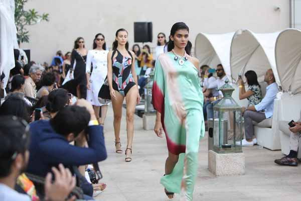 Shivan & Narresh presented a colourful bouquet of cruise and resort styles