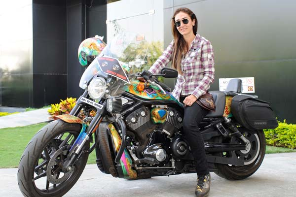 Real , Respect Wo: Harley Davidson riders creates awareness ...