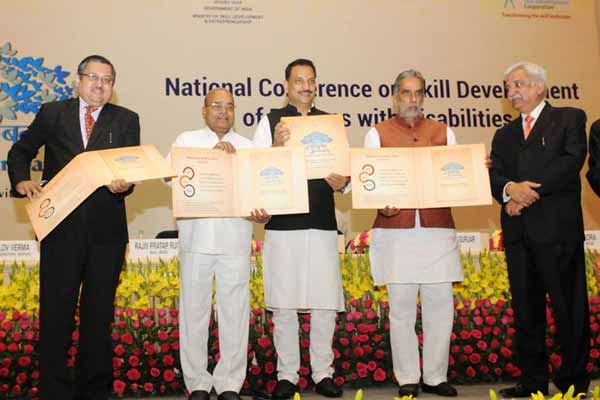 National Action Plan for Skill Training of Persons with Disabilities Launched