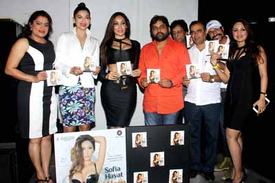 Sofia Hayat launched her debut single Main Ladki Hoon with live performance at Fashion Club