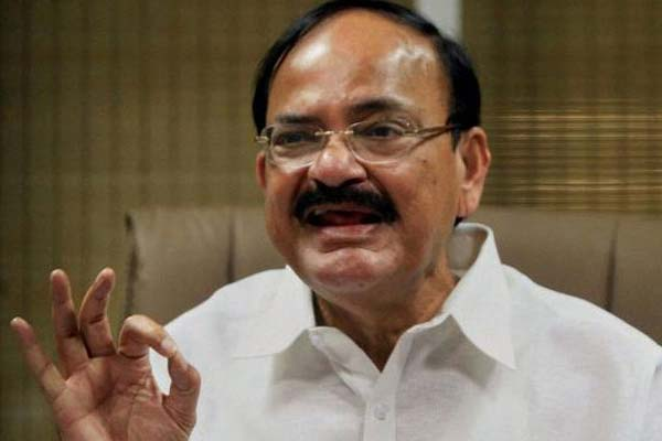 'Bharat Mata ki Jai' Slogan row: What is wrong in worshipping mother, asks Venkaiah