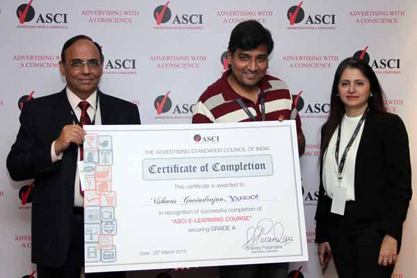 ASCI launches E-Learning program to sensitize industry on responsible advertising