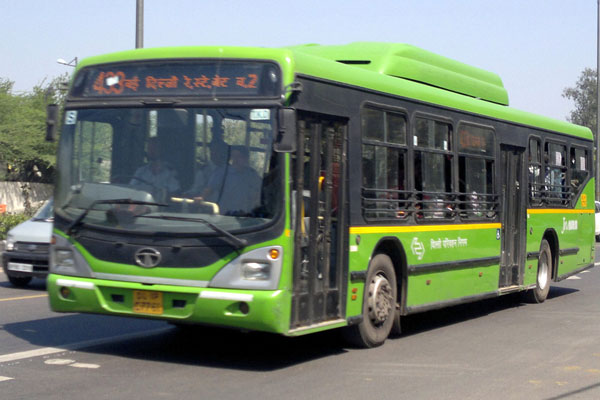 DTC bus driver on run as he crushes man to death