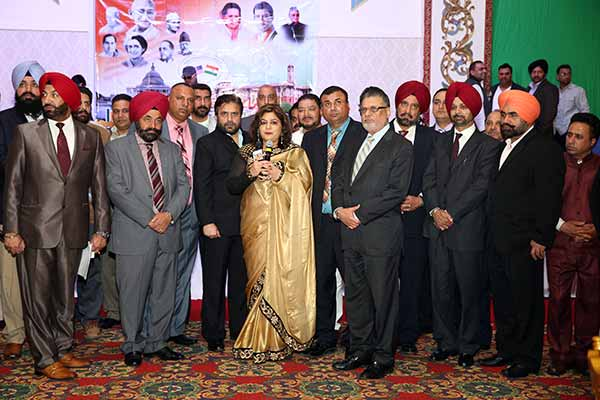 Indian National Overseas Congress(I) - Baishaki and Inaugural of new Team at Albert Palace