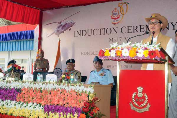 Government committed to strengthen BSF: Kiren Rijiju