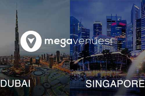 Pune-based venue discovery startup Megavenues goes international with Dubai & Singapore!