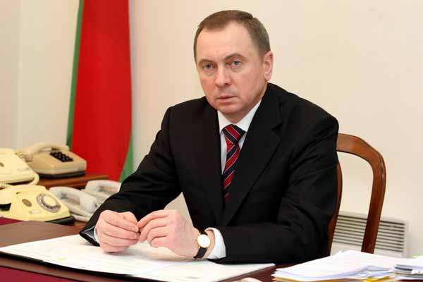 Foreign Minister of Belarus calls on President