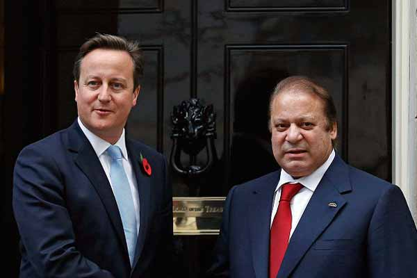 PM David Cameron meeting with Prime Minister Sharif of Pakistan