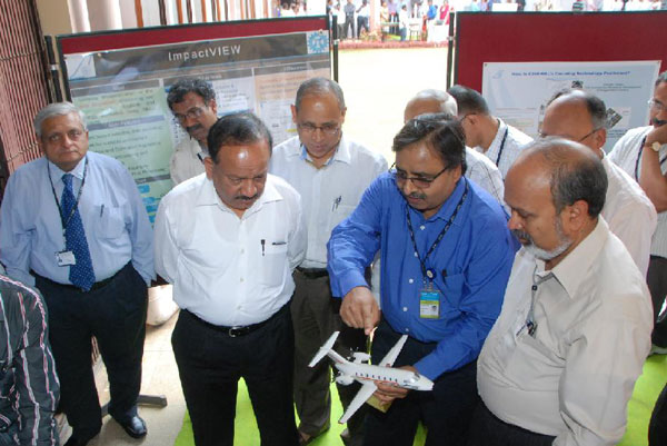 Dr Harsh Vardhan urged National Aerospace Laboratories Scientists to work hard for 'Make-In-India'