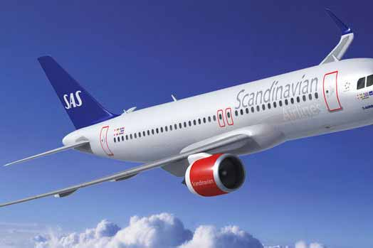 SAS welcomes Google Street View to new long-haul cabin