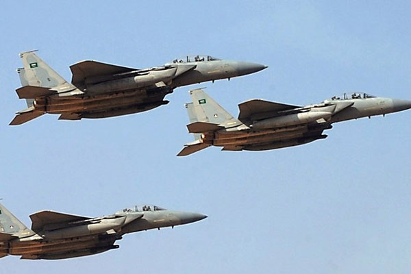 Saudi-led Airstrikes in Yemen; 15 Killed