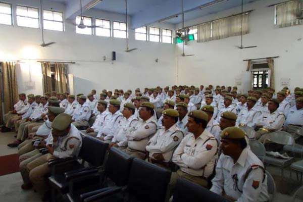 Columbia Asia Hospital organized a session with Police officials on Road Safety awareness