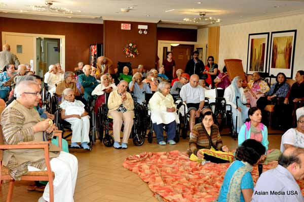 Memorable Mother's Day celebration at The Grove of Skokie Living and Rehab Center in Skokie, Illinois