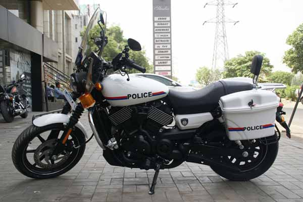 Nine Bridges Harley-Davidson® develops customized Street 750 motorcycles for Gujrat Police Department