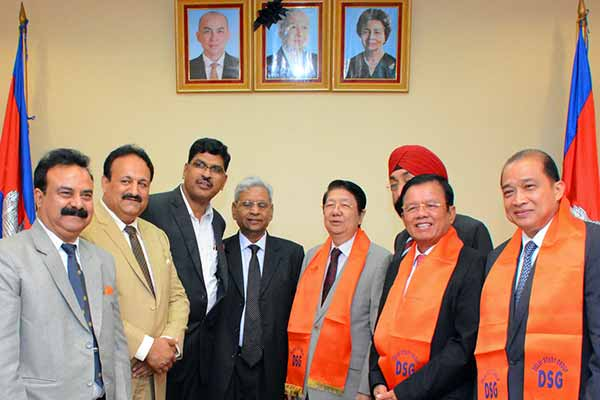 Indian delegation to Cambodia promotes people to people diplomacy