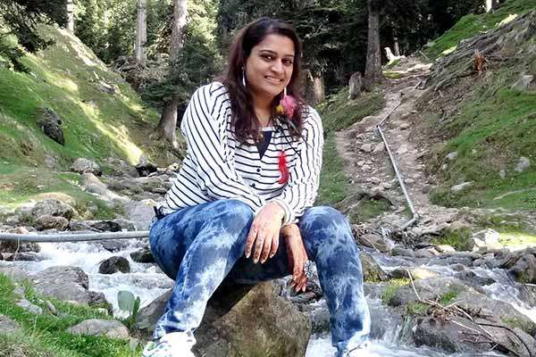 Ekta Jain in Kashmir for altitude training, yoga camp & holiday