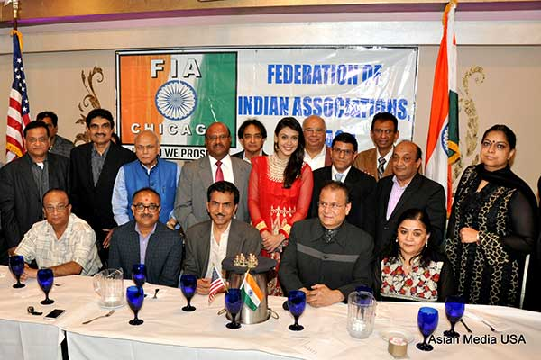 FIA-Chicago ceremoniously 'kicks-off' 2015: India Independence Day Festivities