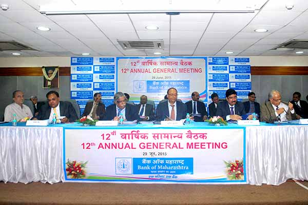 12th Annual General Meeting of Bank of Maharashtra