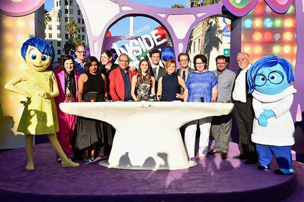 Disney Pixars Inside Out have a smashingly fun premiere in Los Angeles!