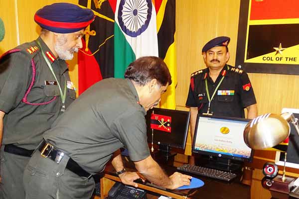 Indian Army Recruitment Goes Online