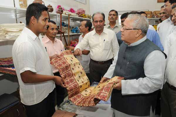 Union Minster for MSME launches khadi denim and PMEGP North-East Exhibition