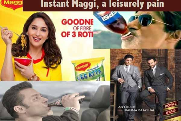 Instant Maggi, a leisurely pain