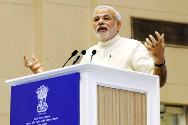 Blaming Congress-led govt; Modi says Andhra Pradesh divided in haste