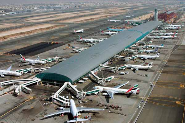 6.7m passengers passed through Dubai International in July