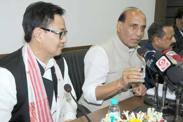 Rajnath Singh says Central government has zero-tolerance policy on insurgency