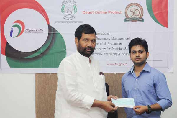 All FCI depot will have online operations by next March- Shri Ram Vilas Paswan