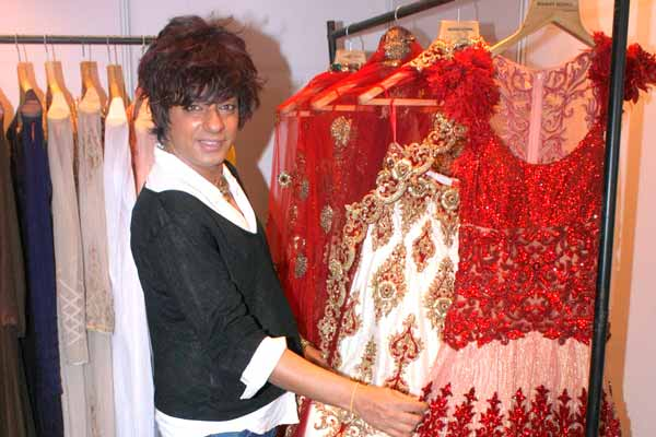 Designer Rohit Verma exhibits his bridal & prêt collection at Celebrating Vivaha Exhibition