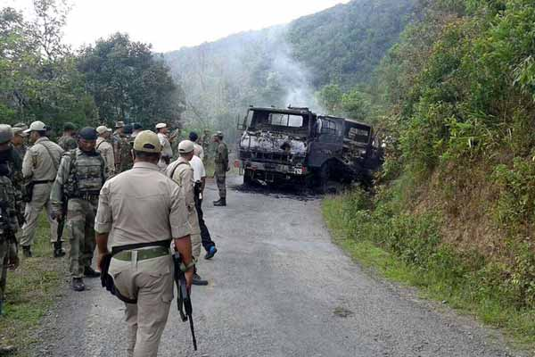Defence Minister shares information about attack on army convoy in Manipur