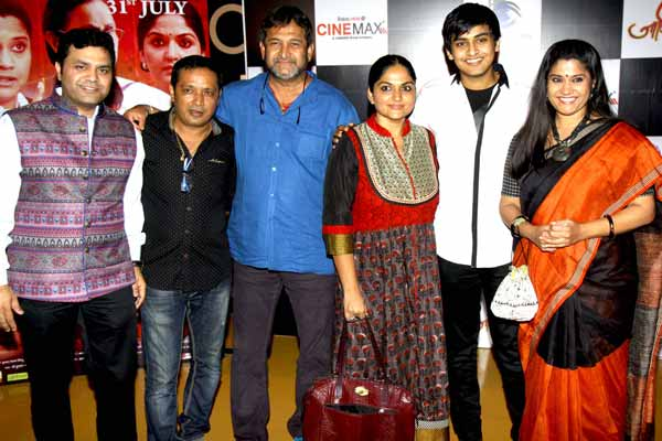 Celebs from film & TV came for the premier of Marathi film Janiva at Cinemax