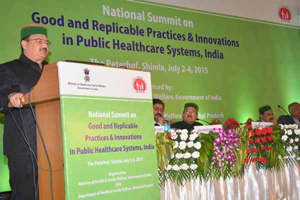 J P Nadda urges states to focus on innovations to achieve superior health outcomes