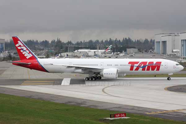 TAM Airlines reveals first A350 XWB destinations