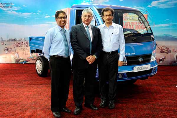 Tata Motors launches the ACE Mega