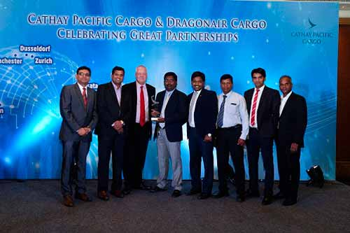 Cathay Pacific & Dragonair Cargo honour trade partners across India