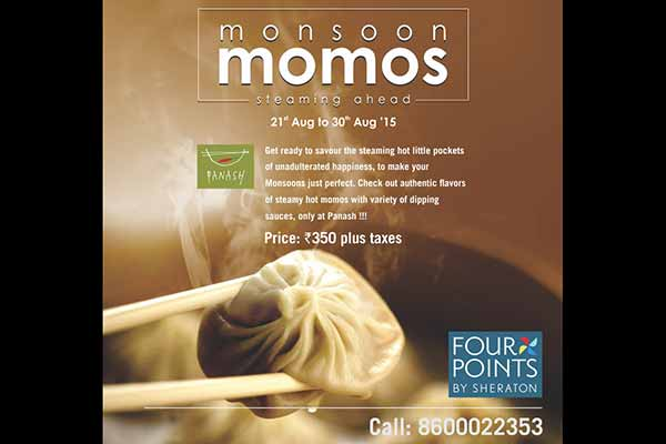 Monsoon Momos at Panash by Four Points by Sheraton Pune