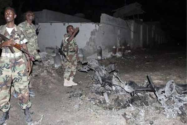 Bomber hits military camp in Southern Somalia; 10 Killed
