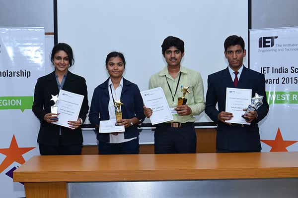 Students from IIT, Gandhinagar and Army Institute of Technology Pune win the West Regional Rounds of IET Scholarship Award