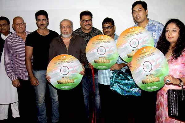 J P Dutta launched the first look & music of Hindi film Aye Watan