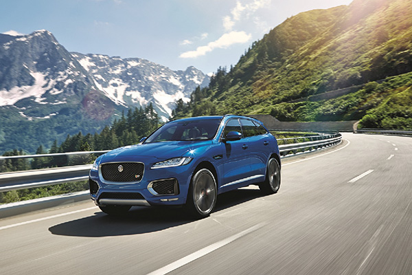 All-New Jaguar F-Pace; The world's ultimate practical sports car revealed #FPACE